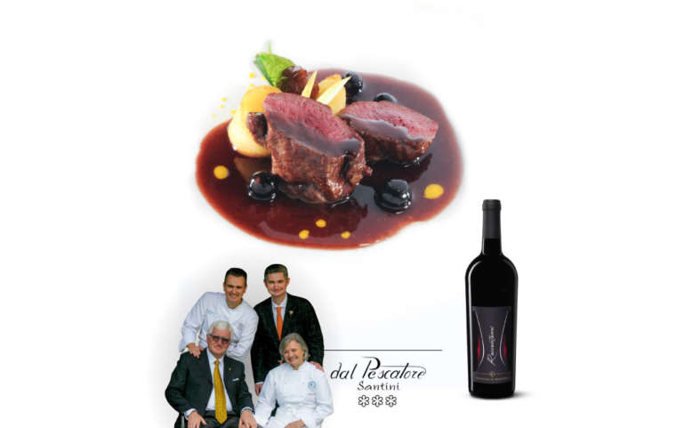 Santini: Roe Deer Venison in Primitivo Wine Sauce with Blueberries
