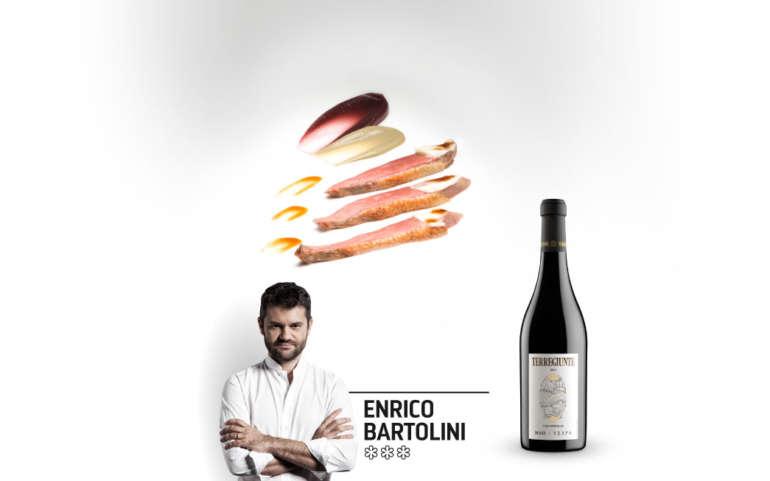 Enrico Bartolini: Piccione, capperi e uva americana