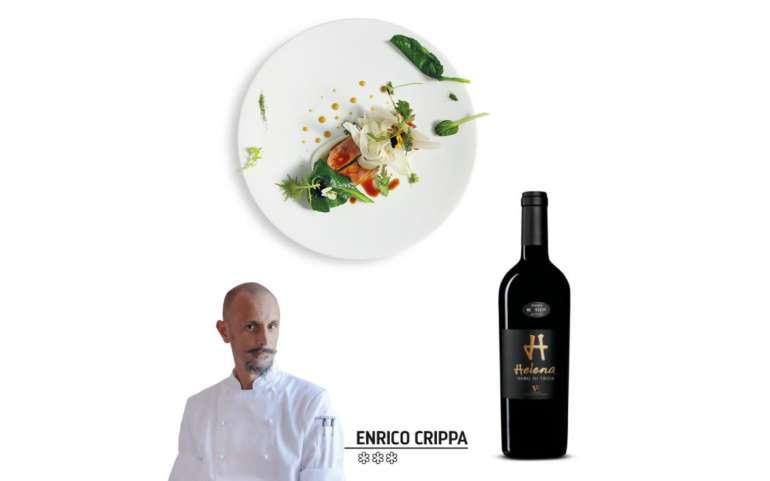 Enrico Crippa: Agnello e camomilla