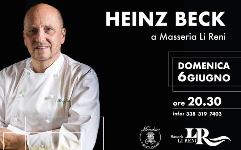 Heinz Beck a Masseria Li Reni